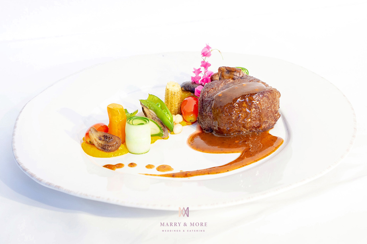 Marry and More Wedding Thailand - Beef Tenderloin