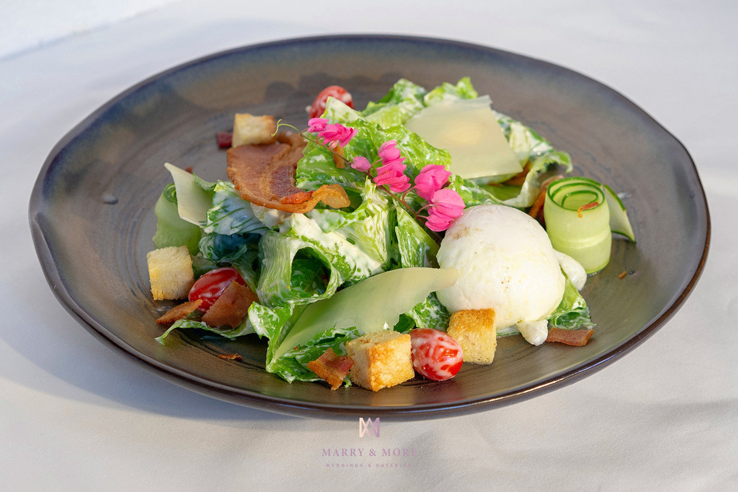 Marry and More Wedding Thailand - Caesar Salad