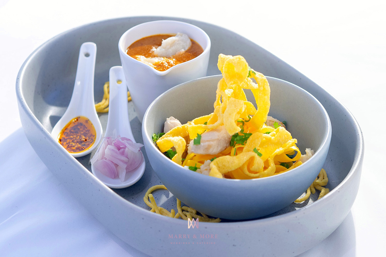 Marry and More Wedding Thailand - Crab Khao Soi
